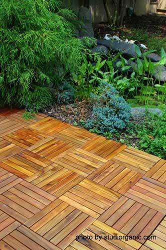 patio tiles outdoor wood decking