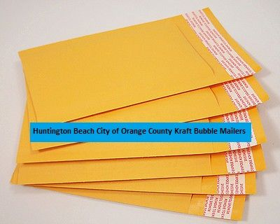 Huntington Beach City of Orange County Kraft Bubble Mailers.Huntington Beach City of Orange County Kraft Bubble Mailers are the lightest type of cushioned shipping bag made. The savings in postage costs can more than pay for the price of these bags. Bubble mailers are sometimes called bubble envelopes or padded envelopes.  Read more about Huntington Beach City of Orange County Kraft Bubble Mailers at http://pacdepot.com/blog/huntington-beach-city-of-orange-county-kraft-bubble-mailers.html