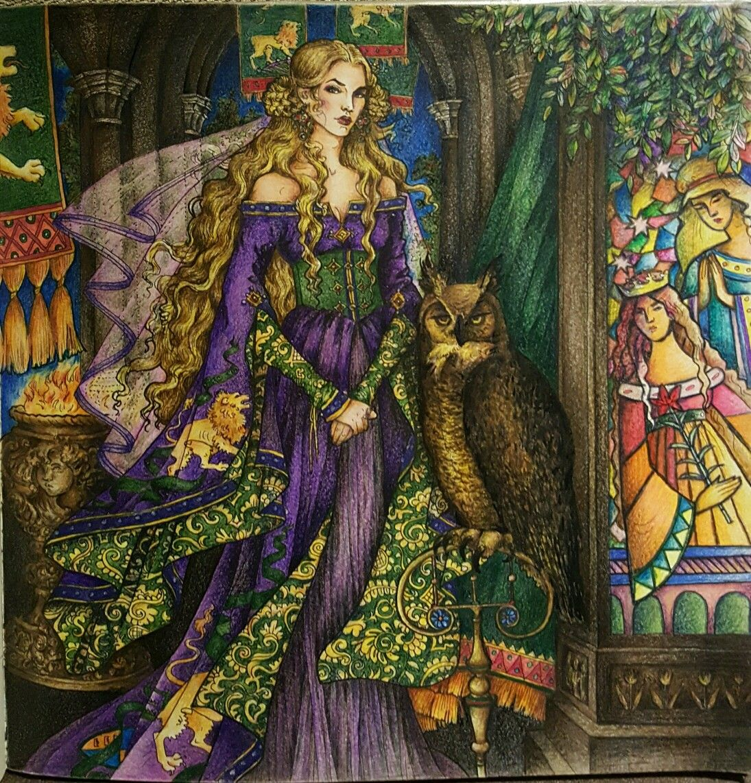 Adult coloring book game of thrones -  Cersei Gameofthronescoloringbook Gameofthrones Adult Coloringcolouringcoloring Bookspencil Artprismacolorgame Of Thronesstress