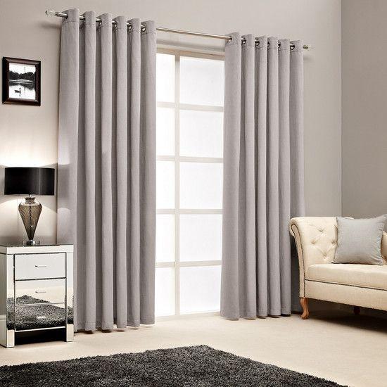Hotel Silver Islington Curtain Collection Dunelm Curtains Silver Curtains Curtain Poles