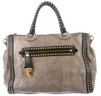 ... Bag Nordstrom  detailed look d3dc1 8b134 Prada Craquele Studded Satchel  ... 4909b4599ef22