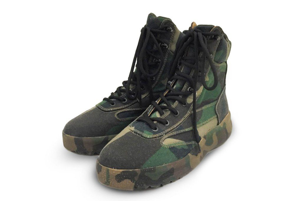 30295fa5fdd YEEZY SEASON 5 Military Boots  First Looks From the Label s Paris ...