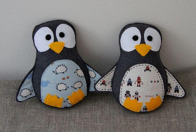 детские игрушки пингвины