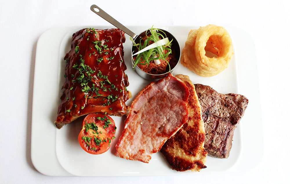 Gillies Butchers Platter - 5oz rump of #beef, mini #gammon