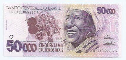 Meio Milhao Relembre A Cedula Brasileira De Maior Valor Ja