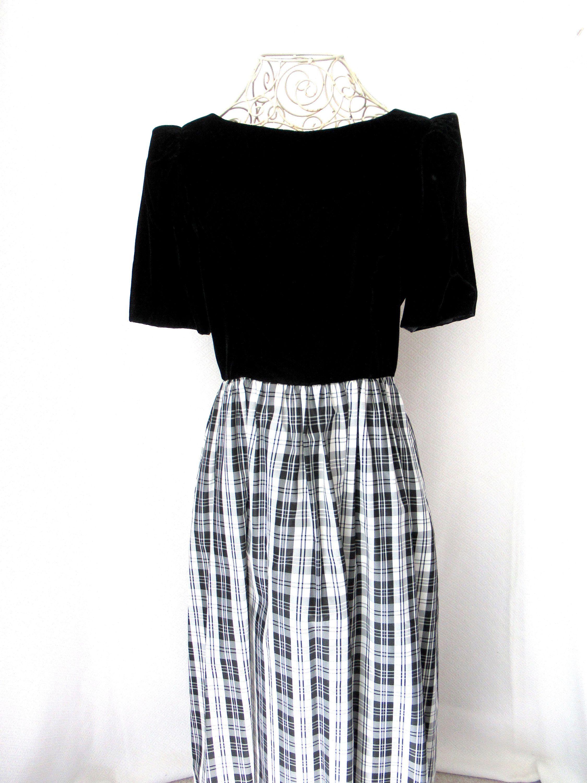 Vintage 80s Lanz evening dress, 80s