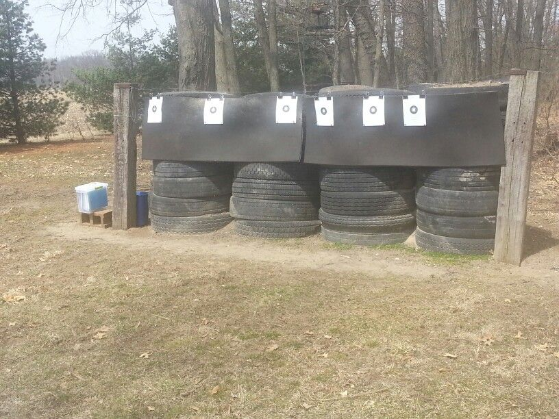 Tires and dirt | Backyard Shooting Range | Pinterest | Tired ...