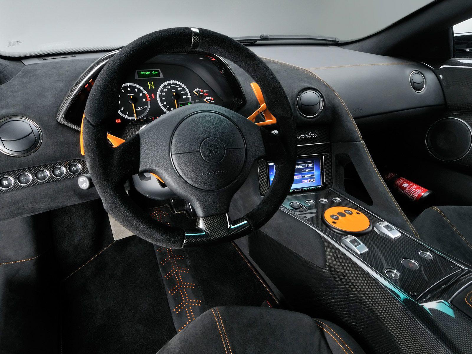 Lamborghini Murcielago Lp670 4 Sv China Edition Interior Cars