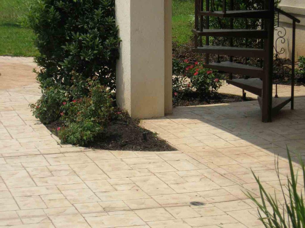 Small Ashlar Slate Increte Of Houston Slate Concrete Stamped Concrete