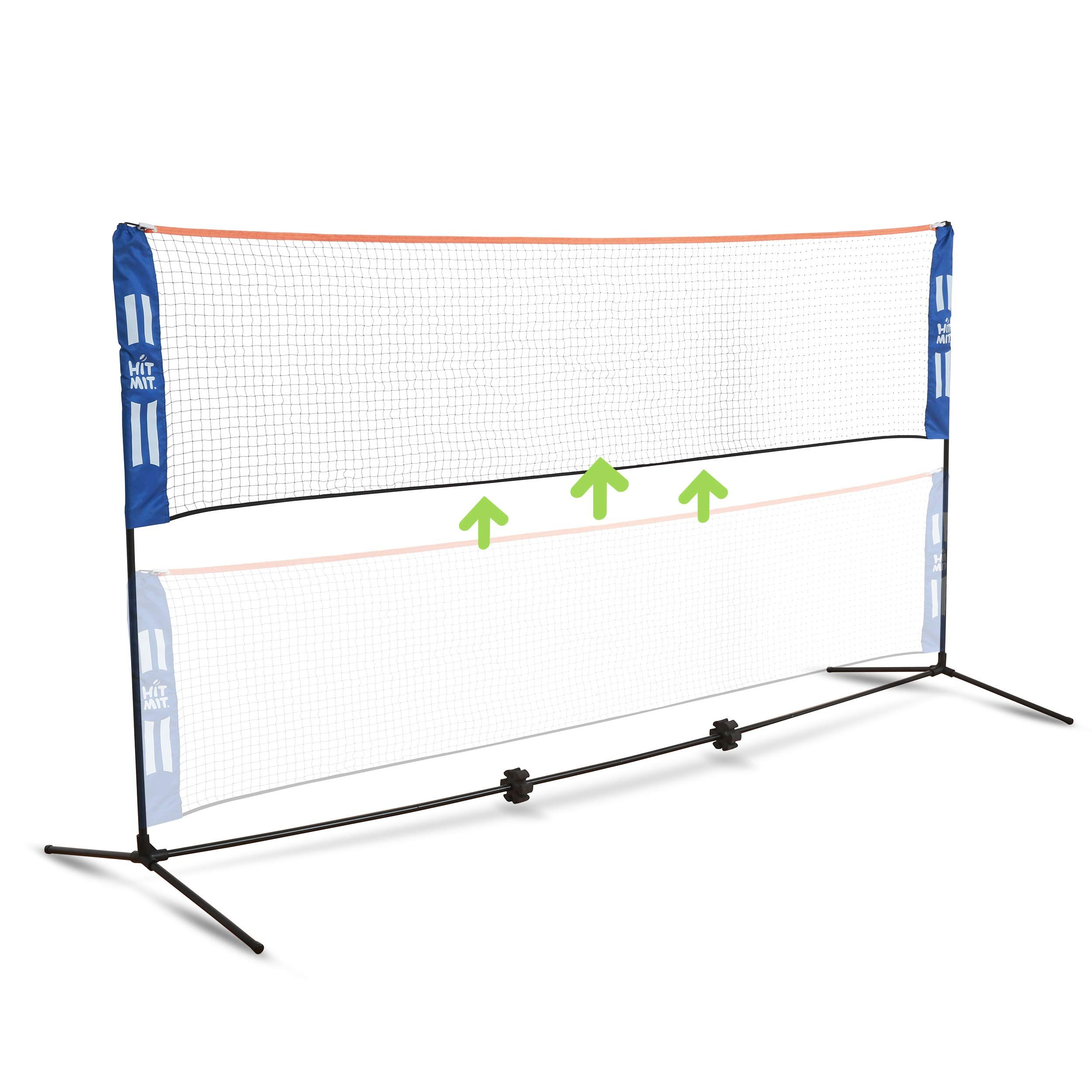 Hit Multi Sport Adjustable Indoor Outdoor In 2020 Lawn Tennis Soccer Tennis Kids Volleyball