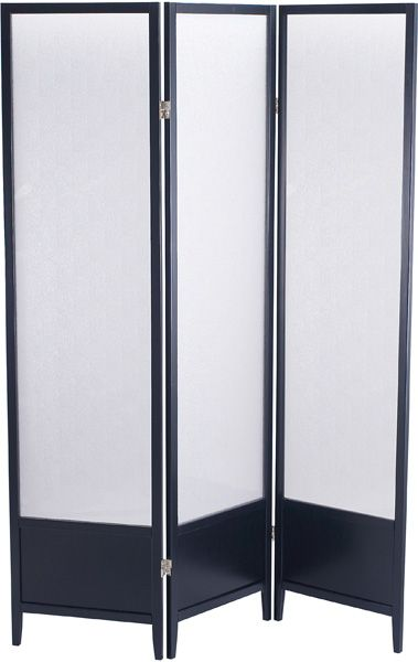 Adesso Toronto Plexi Glass Folding Screen Divider 19900