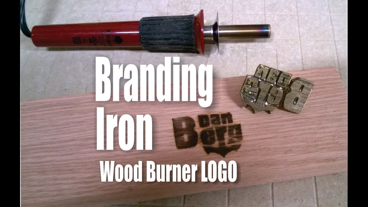 How To Make A Branding Iron Logo For A Wood Burning Tool