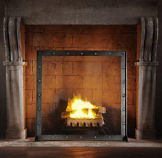 Outdoor Fireplace Screen Restoration Hardware Steampunk House