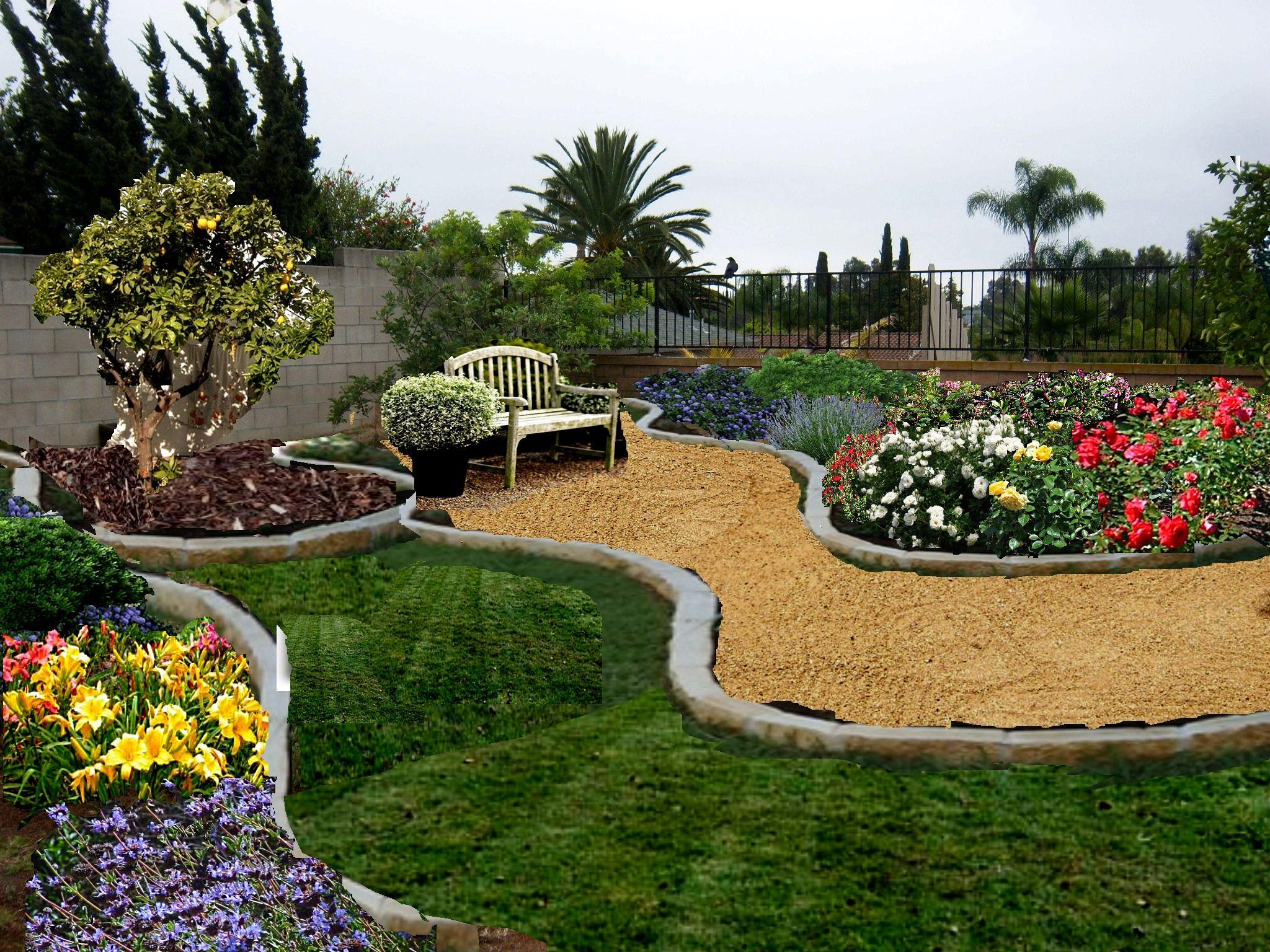 New home garden  Rock Garden idea  New garden  Pinterest  Garden ideas Gardens