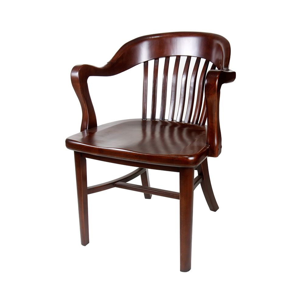Brenn Antique Wood Arm Chair The Chair Market Antique Wooden