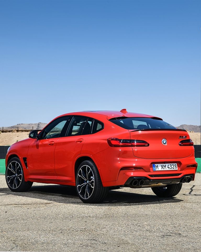 A Master Of The Road, The BMW X4 M Competition Sprints