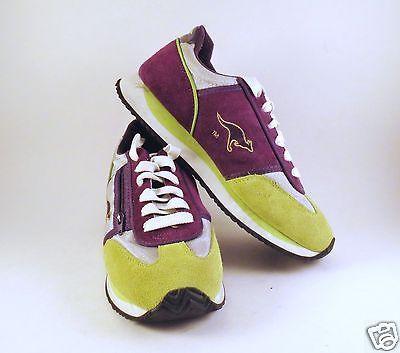 eb7b8e5109a Vintage-1980-039-s-90-039-s-KANGAROOS-Running-Shoes-Women-039-s -Size-6-5-EUC-Lime-Purple