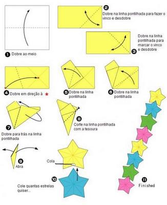 DIY Star Origami Garland Tutorial