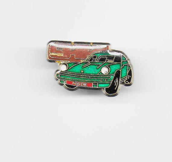 True Vintage PORSCHE 911 Lapel Pin, Enamel Pin, Pinback, Hat Pin, Classic Car, Corvette, Mustang, Ferrari, BMW