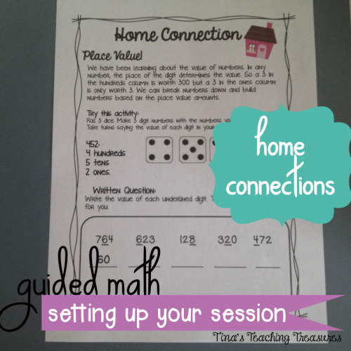 How to use your 20 minute small group math lesson- 3 part design! With examples, tips, pictures and freebies!