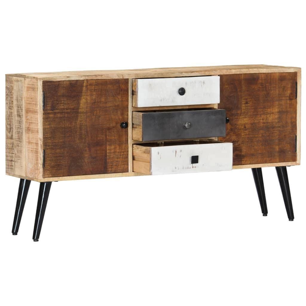 Vida Sideboard 118x30x62 Cm Solid Mango Wood