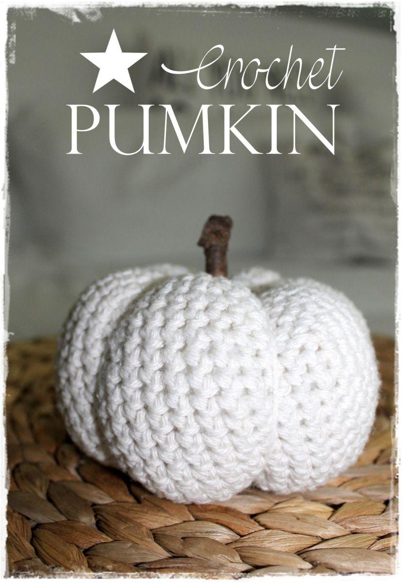 CROCHET PUMKIN TUTORIAL | Crochet ❤ | Pinterest | Häckeln ...
