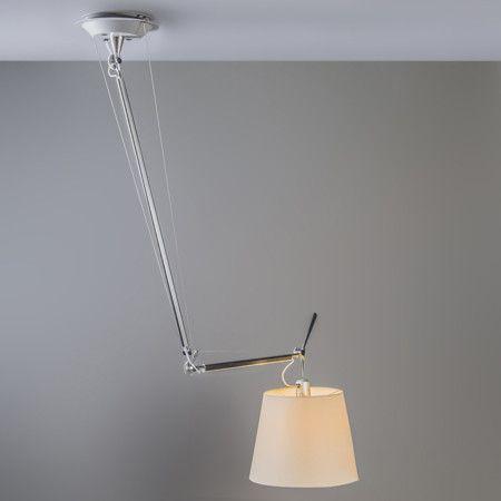 Artemide Tolomeo Sospensione Decentrata Lampenlicht Beleuchtung Decke Lampe