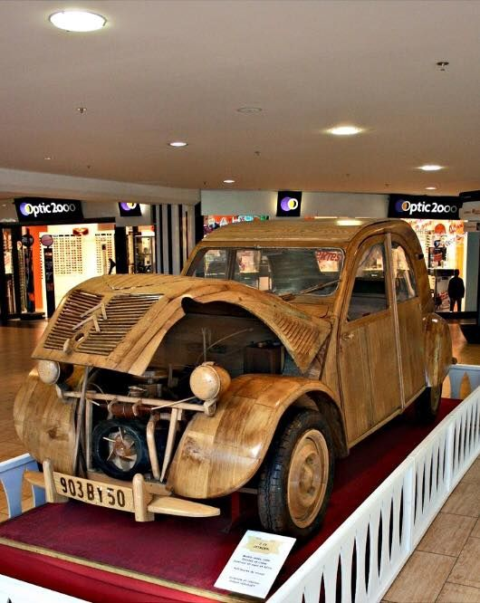 2cv en bois citroen 2cv pinterest. Black Bedroom Furniture Sets. Home Design Ideas