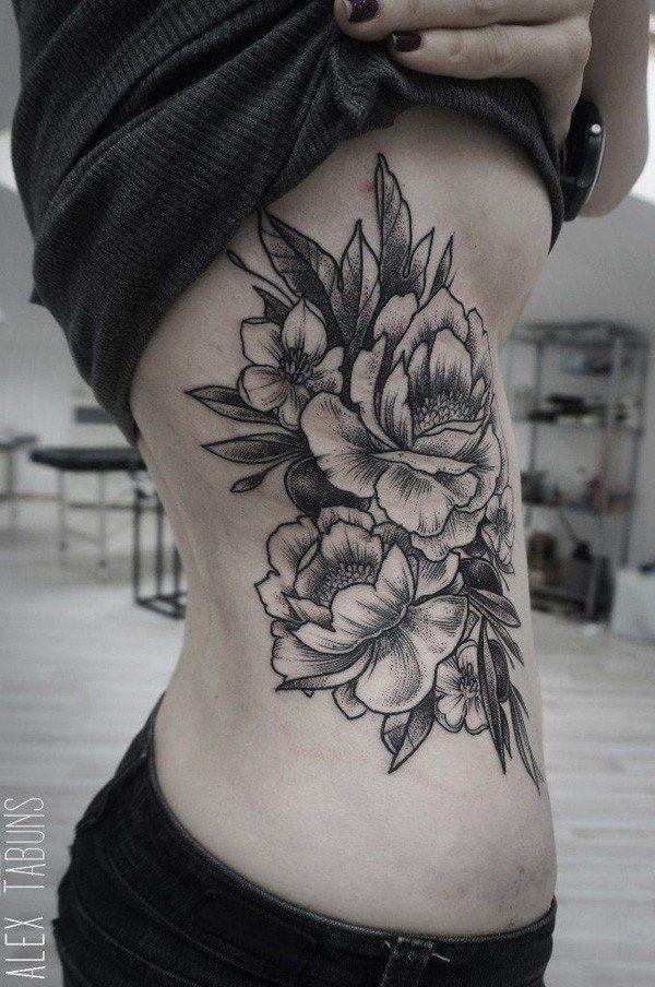 ea29cedb6321b 50 Peony Tattoo Designs and Meanings | Too Cool Tattoos | Peonies ...