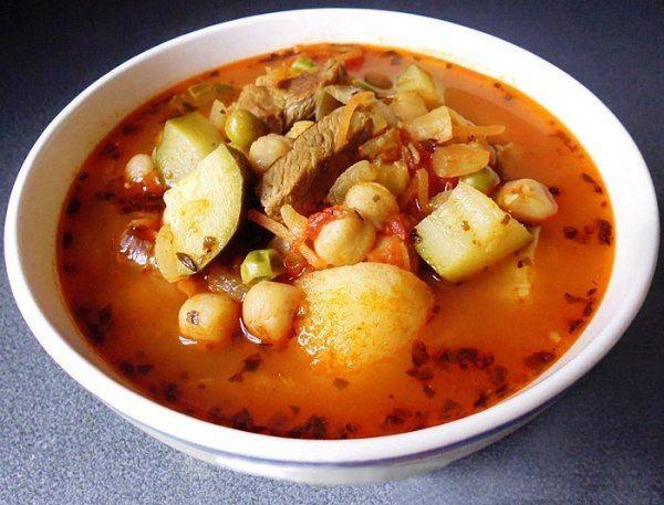 Ароматный восточный рецепт – пряный суп с кабачками в ...