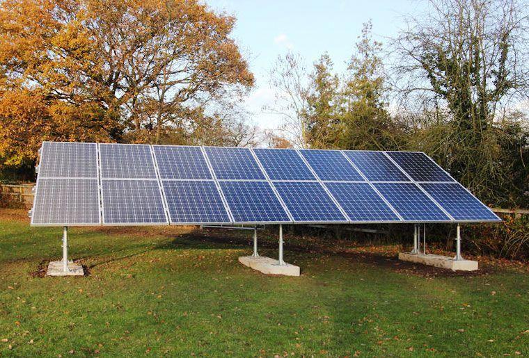 Ground Mounted Solar Panels ARPower AR Power