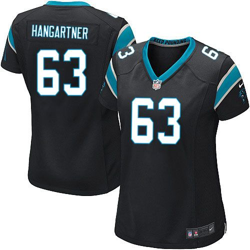 women nike carolina panthers 63 geoff hangartner limited black team color nfl jersey sale youth nike