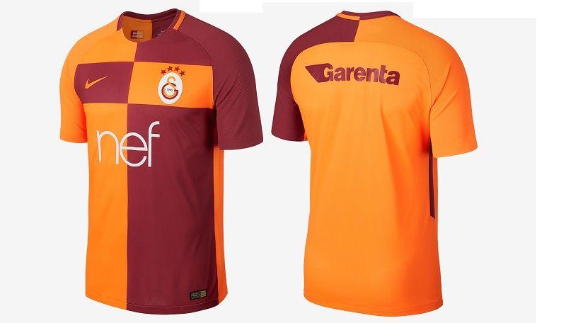 Camisas do Galatasaray 2017-2018 Nike  995b7f5c4a5f0