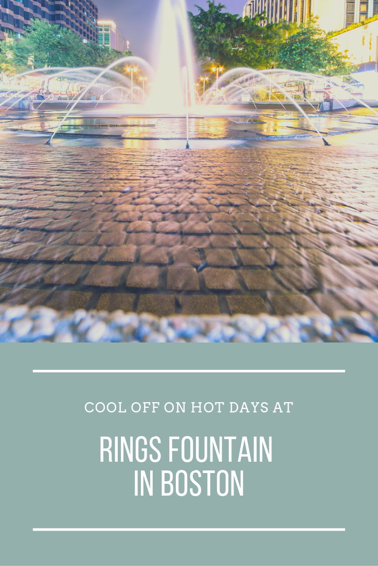 Cool Off With One Of The Most Well Known Features On The Greenway The Ring Fountain Spray Park Fountain Local Guide