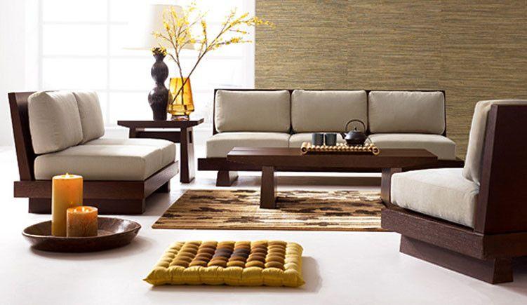 Solid Wood Contrast Sofa Set Wooden Sofa Designs Asian Home