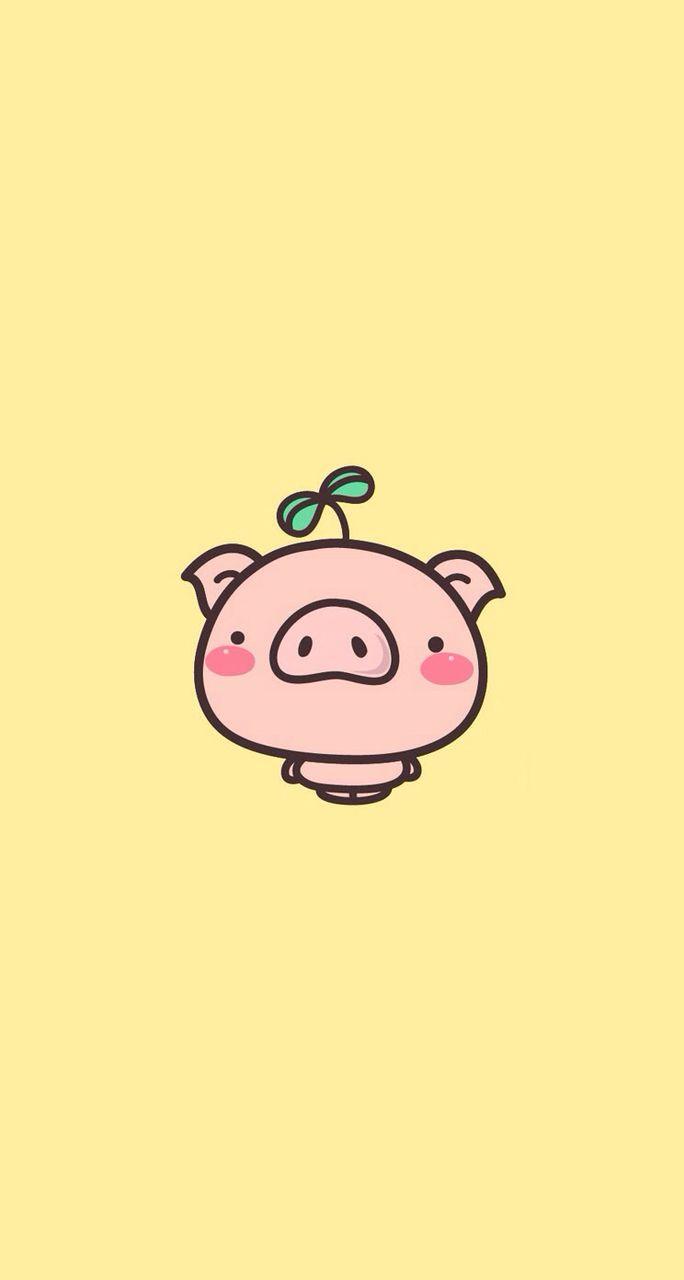 Cute Pig Pig Wallpaper Cartoon Wallpaper Cute Pigs