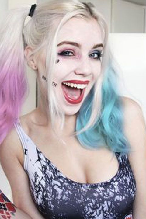10 Harley Quinn Makeup Ideas That Are Seriously Badass