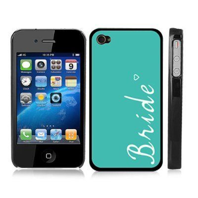 Just Married Bride Turquoise Snap-On Cover w/ Black Hard Carrying Case for iPhone 4/4S by Zinga, http://www.amazon.com/dp/B00BXP5JJS/ref=cm_sw_r_pi_dp_5LWFsb0T4B6EB