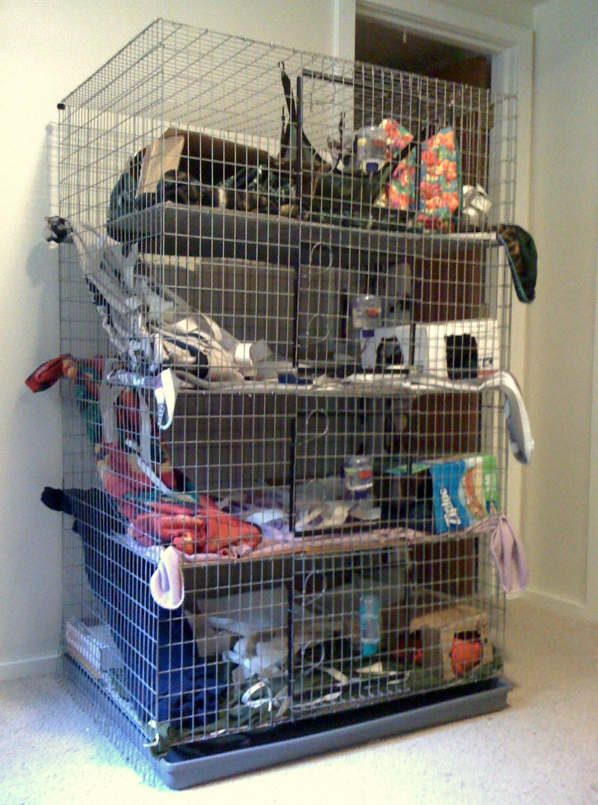 Wondrous Sweet Multi Level Rat Cage Definitely Going To Build Them Home Interior And Landscaping Ologienasavecom