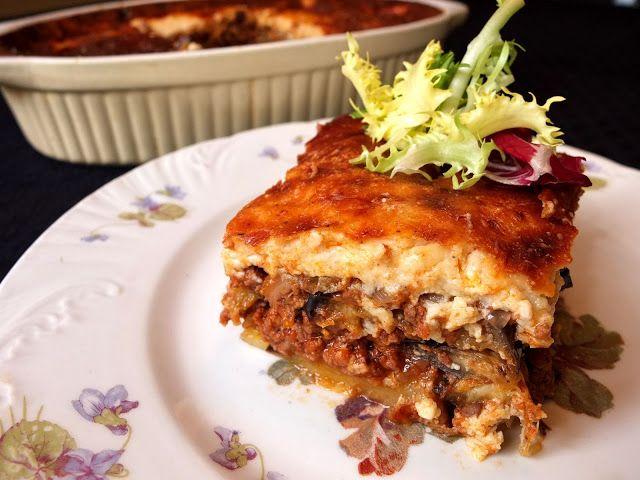 Cocinando con Lola García: Moussaka griega