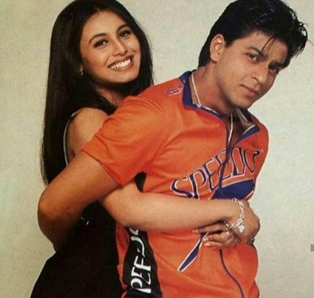 Rani Mukherji Shahrukh Khan Kuch Kuch Hota Hai