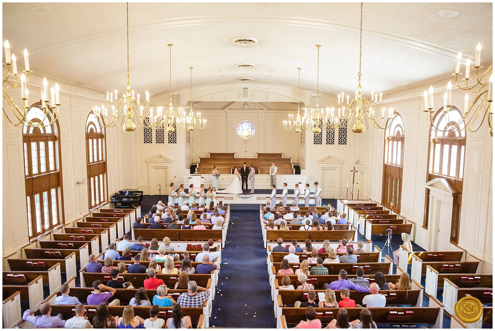 A Classical Wedding At Asbury University In Lexington Kentucky