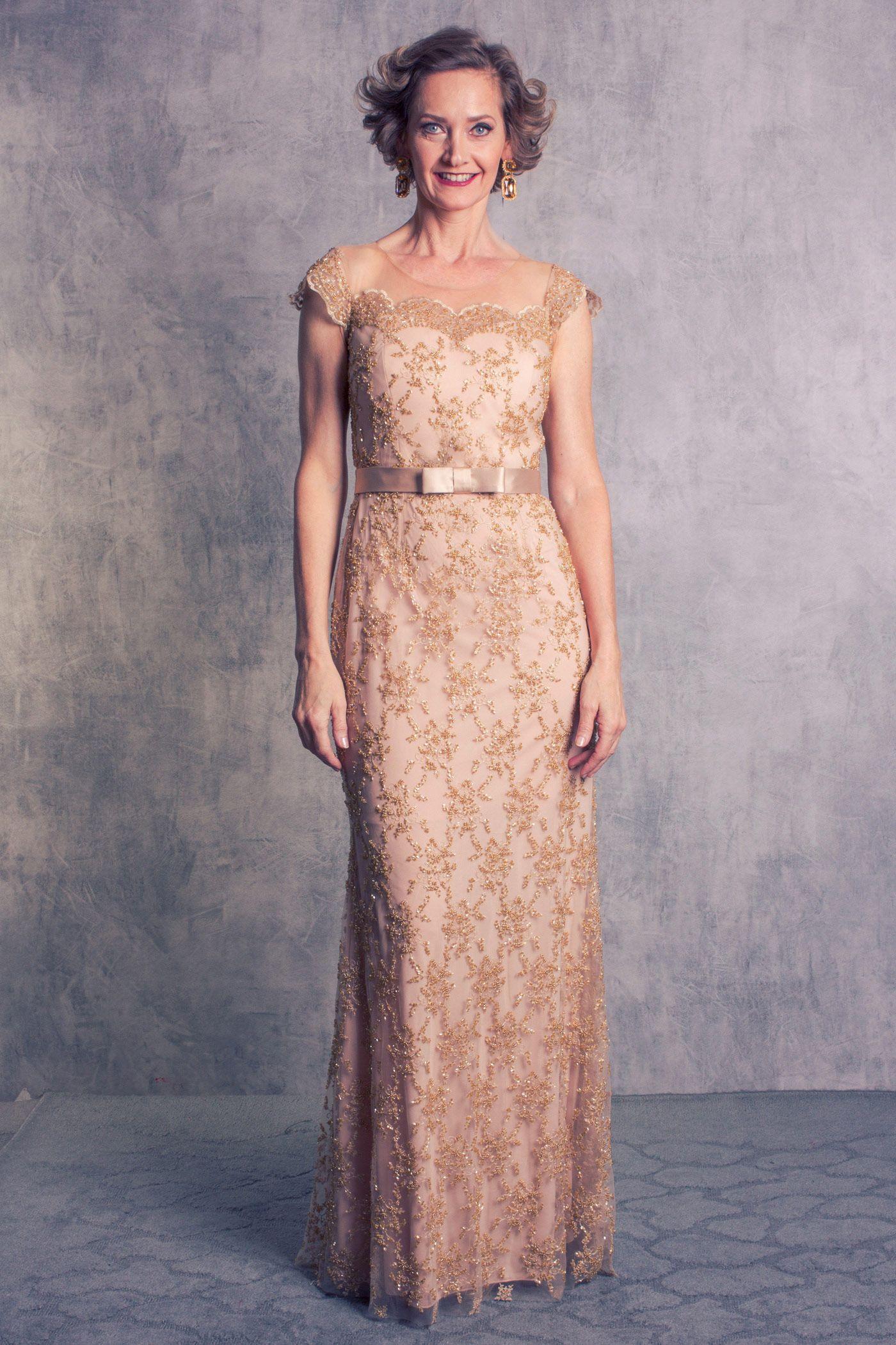 37e9790e864 Amei este vestido longo de festa da coleção Dear Queens da marca Arthur  Caliman Moda festa