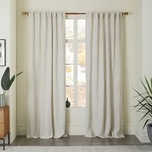 Living Room And Bedroom Curtains Belgian Flax Linen Curtain