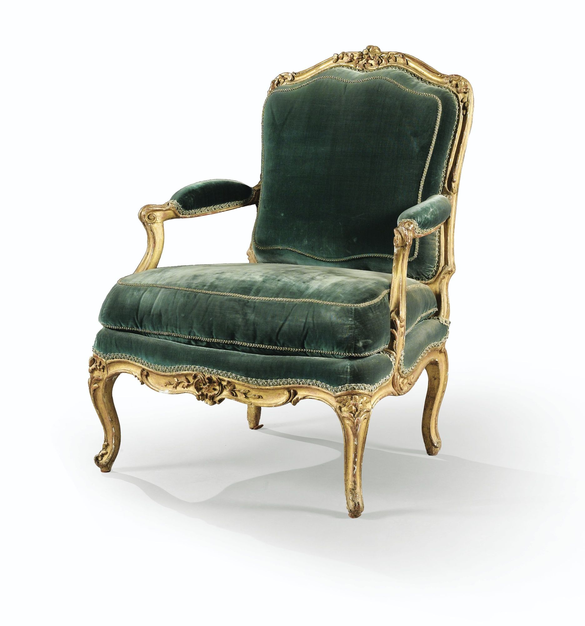 a carved giltwood armchair louis xv furniture antiques baroque rococo pinterest ltere. Black Bedroom Furniture Sets. Home Design Ideas