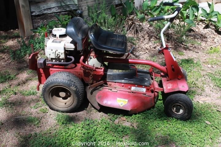 Snapper Riding Mower In Mcdonough Online Auction Bid Online Now Instructional Planning Outdoor Tools Garden Tractor