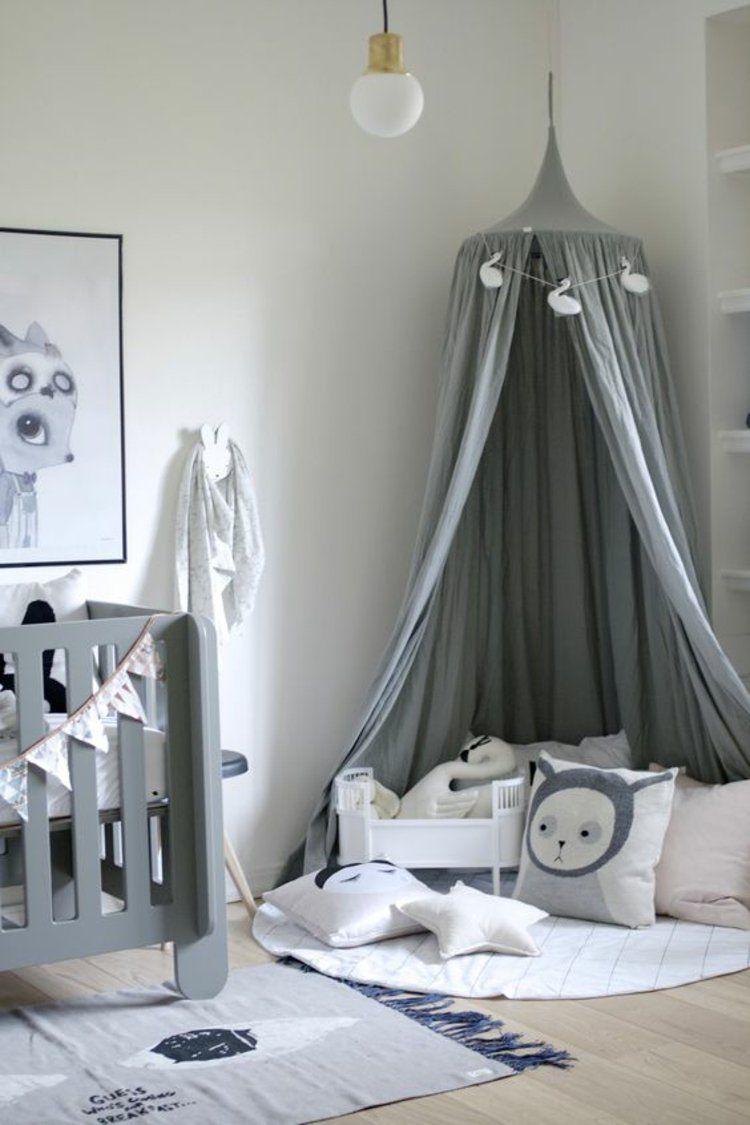 Kinderzimmer einrichten Bilder fBett Kuschelecke gestalten ... | {Spielzimmer einrichten 81}
