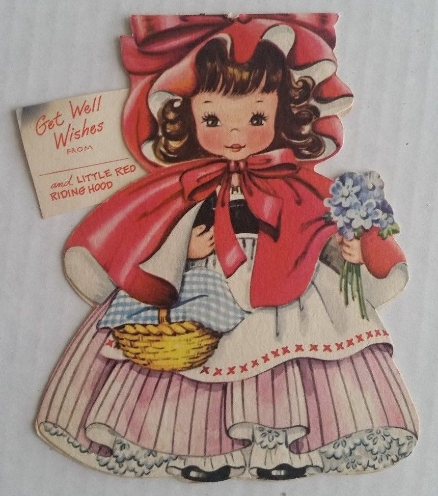 1949 american greetings card little red riding hood paper doll 1949 american greetings card little red riding hood paper doll there is also a kristyandbryce Choice Image