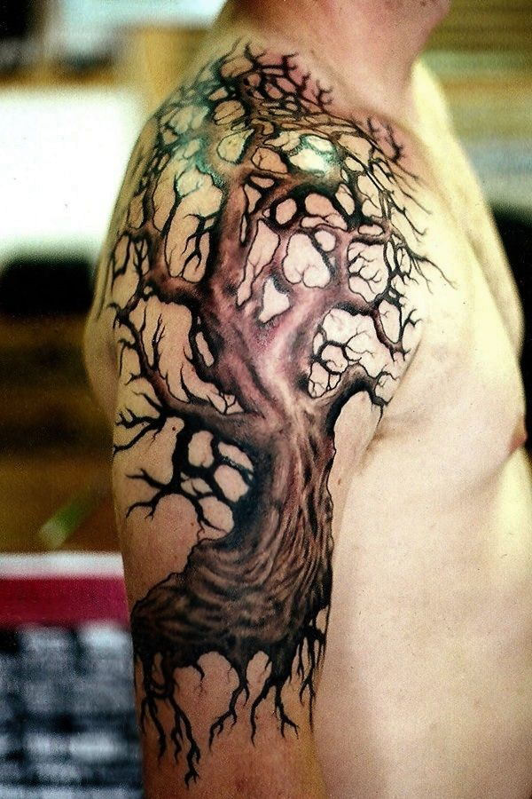 101 Catchy Half Sleeve Tattoos for Girls and Boys Tree