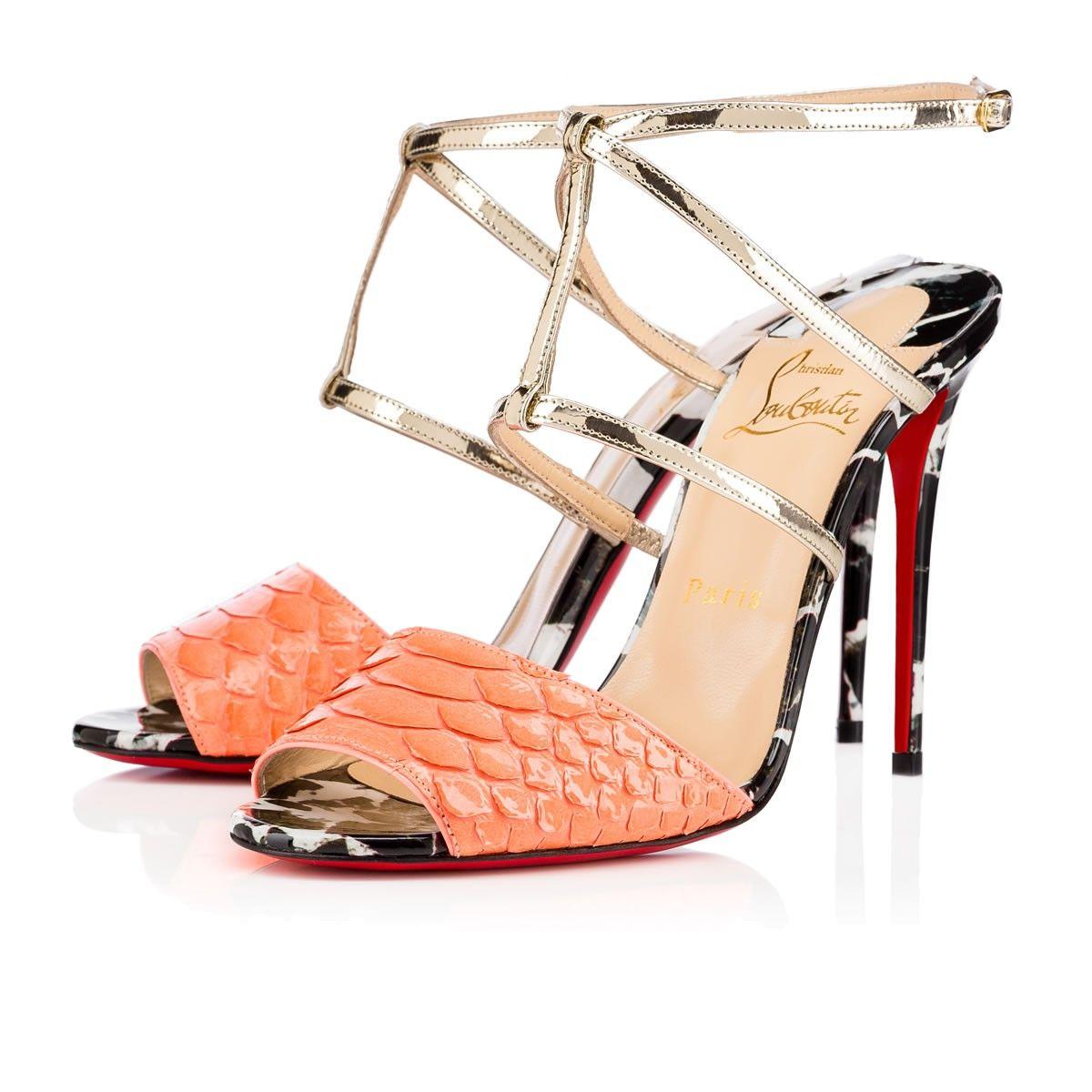 95d552c7e81 ... get christian louboutin lovabrida 100mm version flamingo python.  christianlouboutin shoes 581c2 6c685